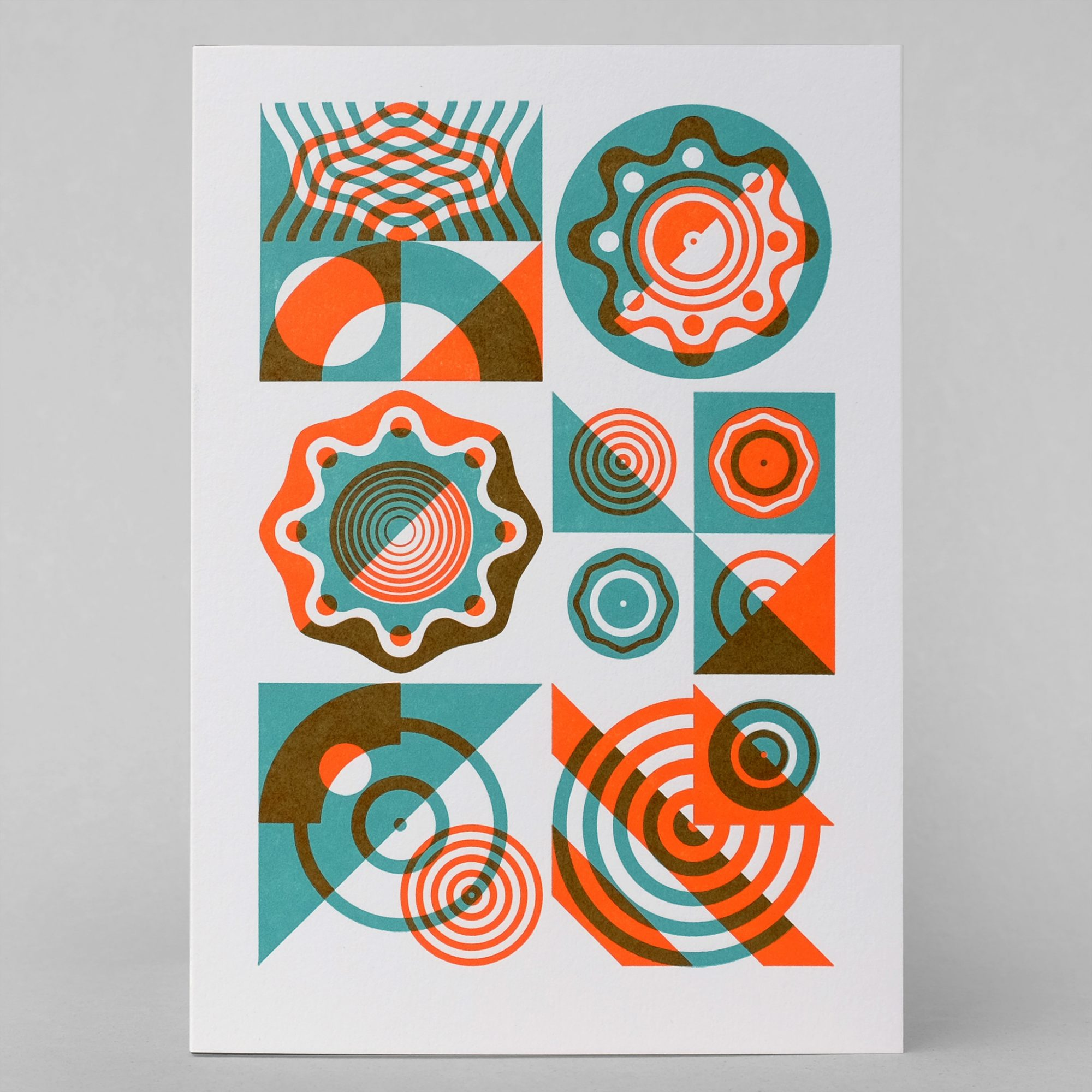 seasonal letterpress art card 2015 – imagesurgery journal