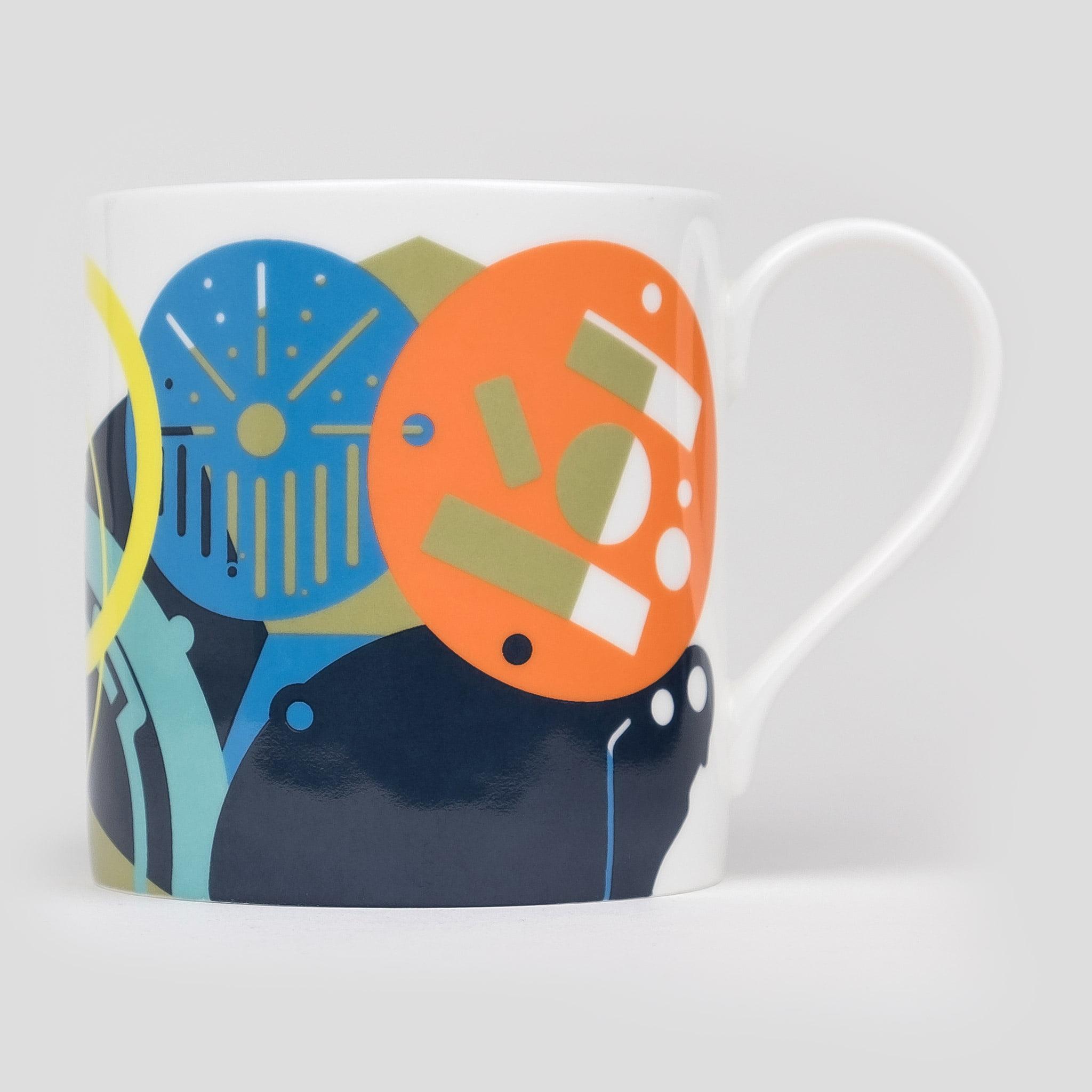 elegant bone china mugs