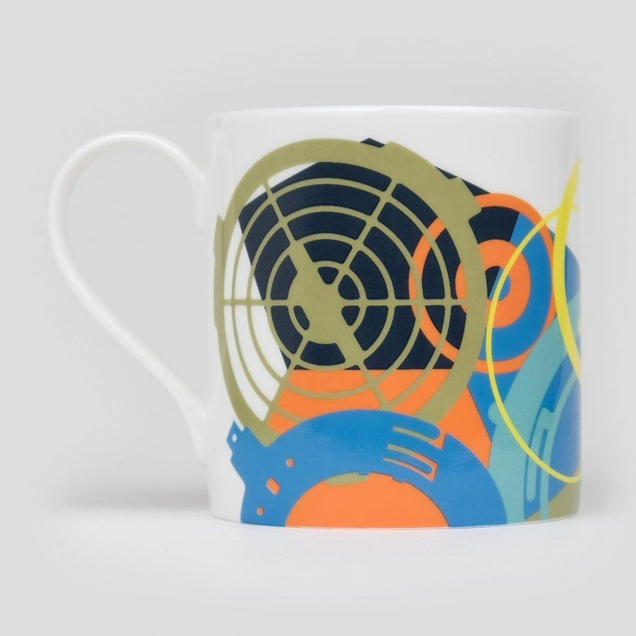 graphic fine bone china mug SKALA by imagesurgery