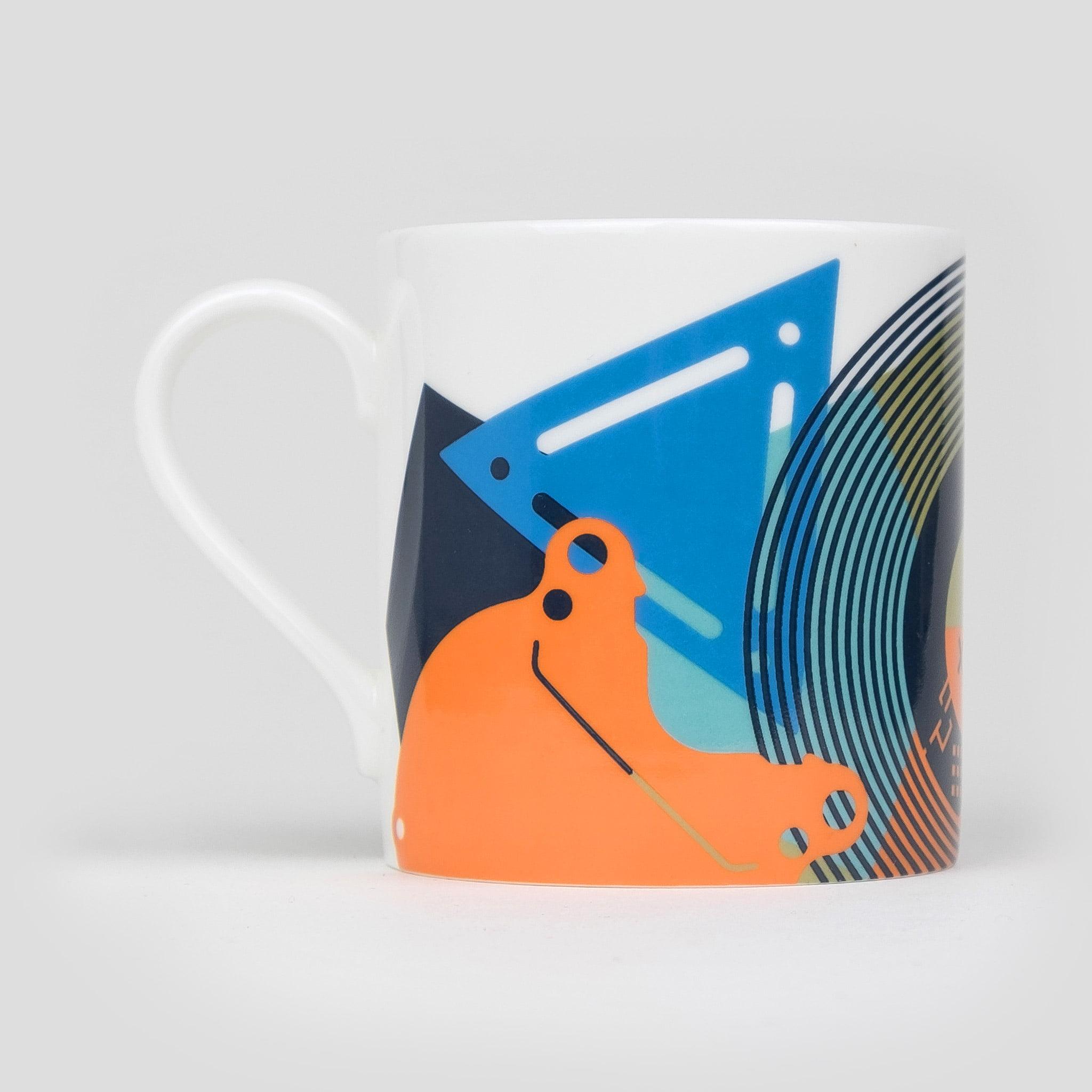 contemporary bone china coffee mug