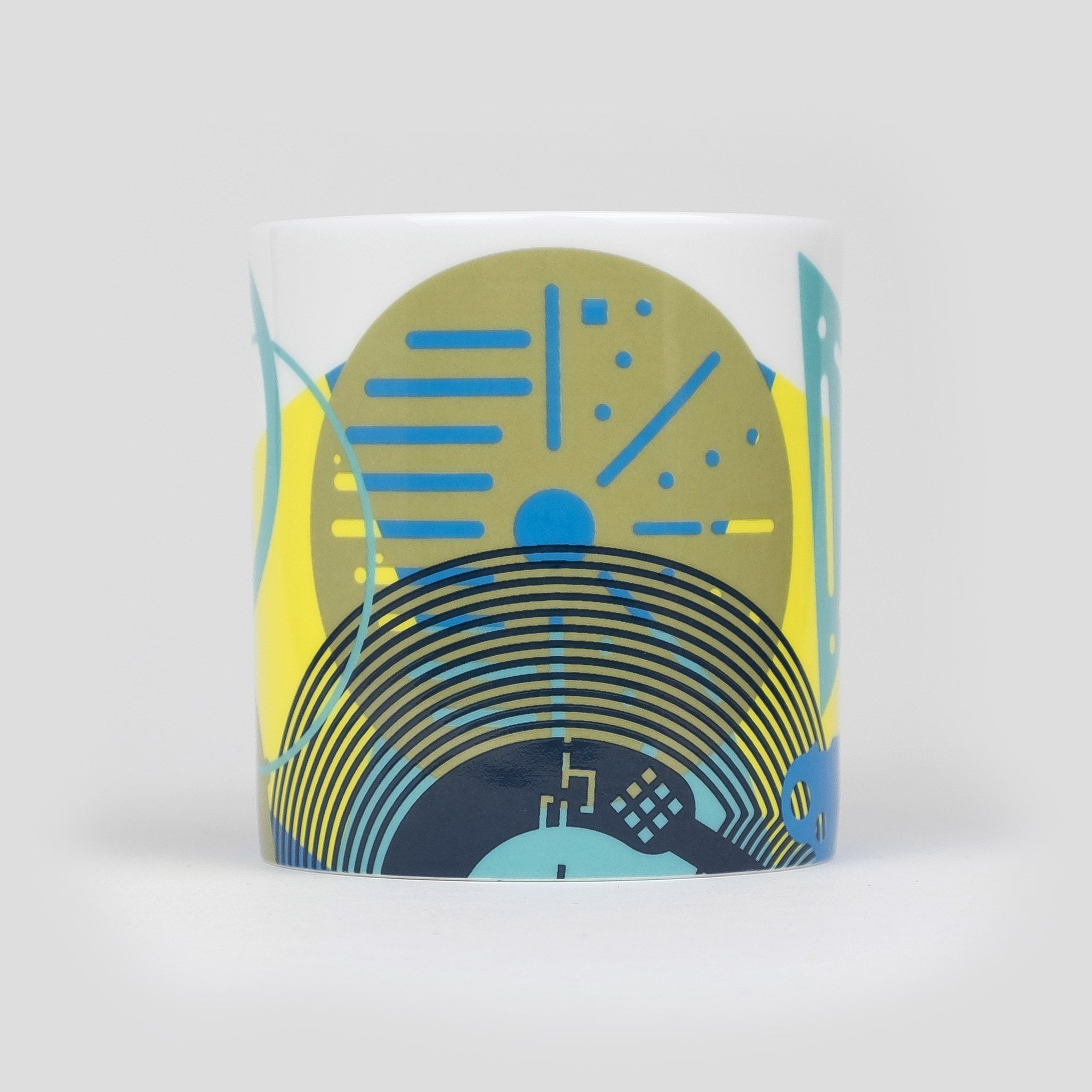 contemporary fine bone china coffee mug