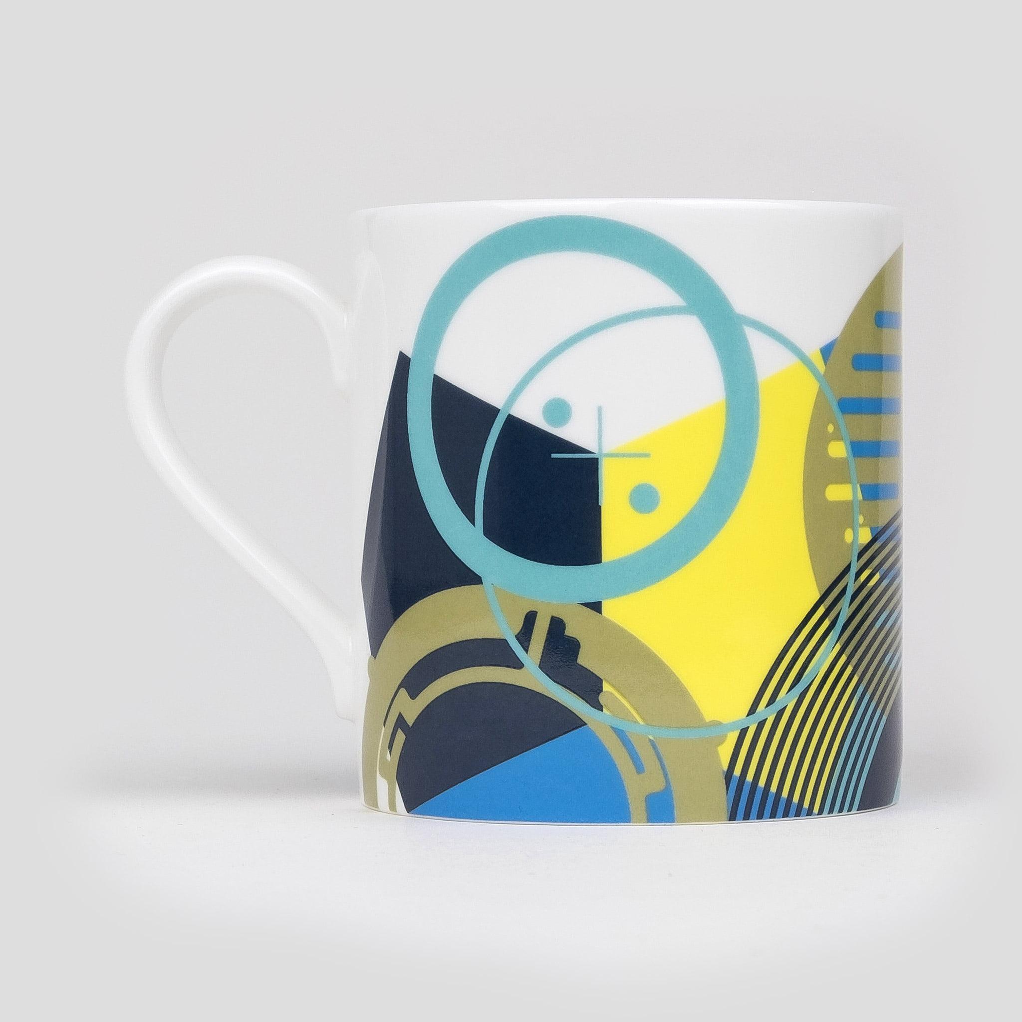 Fine bone china coffee mug