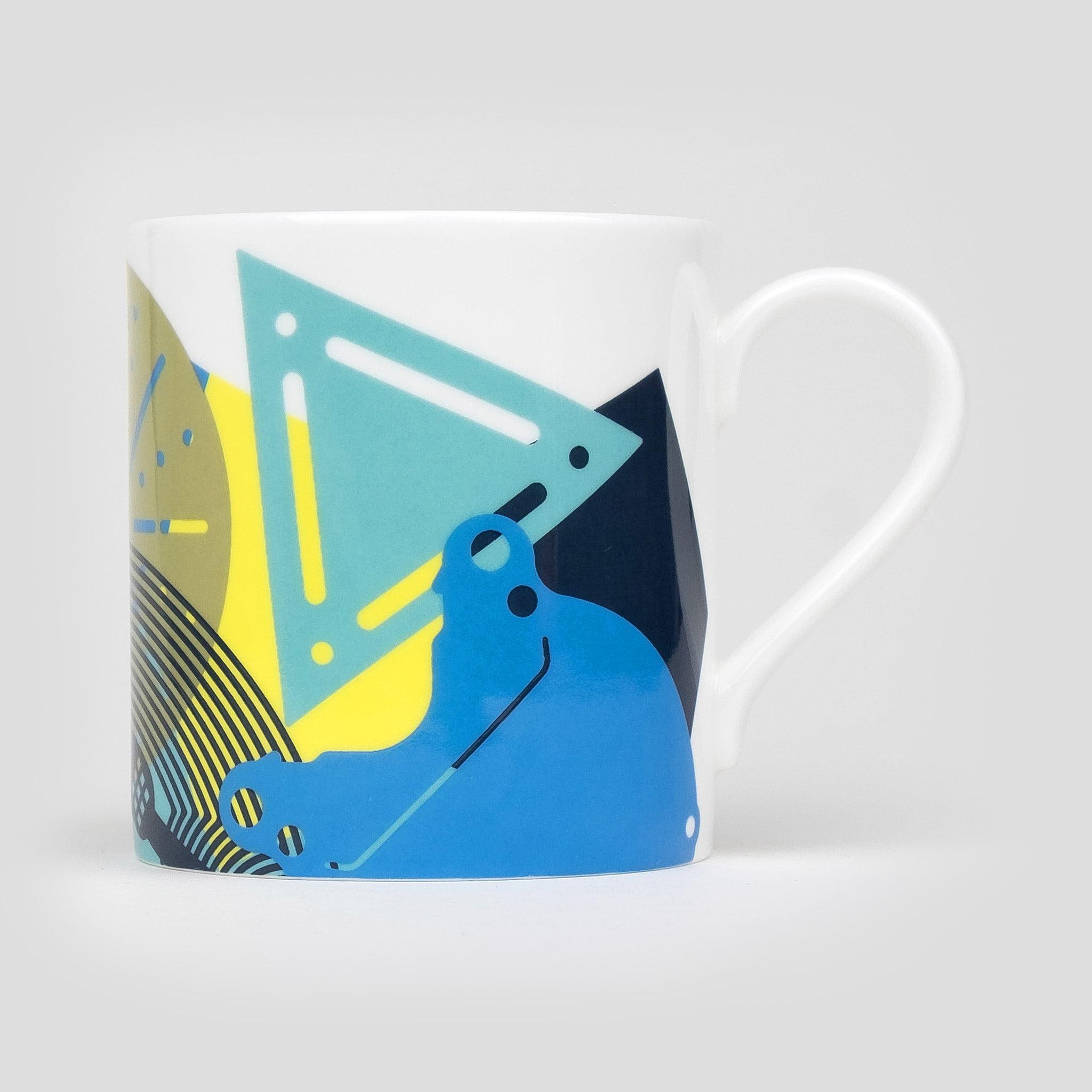 small fine bone china coffee mug