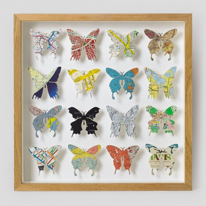 Miniature Butterfly Artwork